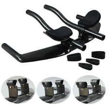 Bicycle Rest Handlebar TT Full Carbon Road Mountain Bike Cycling Rest Bar Black