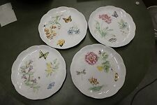 "LENOX BUTTERFLY MEADOW (4) DINNER PLATES 10 7/8""-Different Patterns"