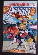 AVENGERS WEST COAST ANNUAL #7! ASSAULT ON ARMOR CITY! 1992 MARVEL COMICS
