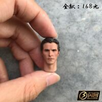 1:12 Scale Christian Bale Batman Head Carved Man Figure Head Fit 6'' Body