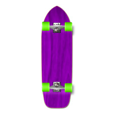 Yocaher Old School Blank Longboard Complete - Stained Purple