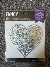 Hero Arts Fancy Dies Paper Layering Floral Heart With Frame
