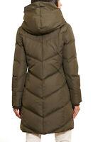 NWT $300 Size M LAUREN RALPH LAUREN 3/4 Down Pillow Collar Loden  Jacket Green