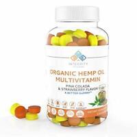 Integrity Vitamins Organic Hemp Oil 3,000mg Multivitamin, All Natural - 120ct