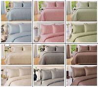 400TC Luxury Cotton Rich Paisley Printed Duvet Cover & Pillowcases Bedding Set