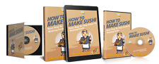 How To Make Sushi(Ebook + Audio + Online Video Course) - HowExpert