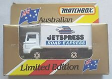 Matchbox MB 72 Delivery Truck Jetspress Road Express 1981