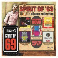 Spirit of 69:the Trojan Albums Collection Set 5CD NEU OVP