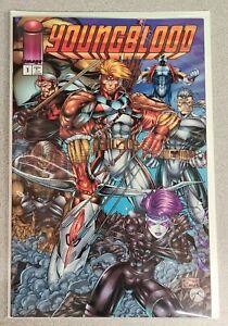 Youngblood Vol  2 # 1 Image Comics Rob Liefeld Eric Stephenson 1995 NM