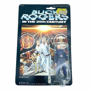 Vintage 1979 Mego Buck Rogers 25th Century KILLER KANE Action Figure NEW ON CARD