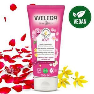 Weleda Organic Natural Love Pampering Creamy Body Wash - Rose & Ylang Ylang