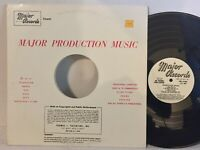 Major Records Production Music 6079 EX electronic funk soul RARE LIBRARY
