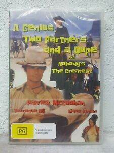 A Genius Two Partners And A Dupe AKA Nobodys The Greatest DVD Terrence Hill 1975