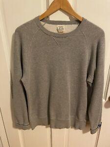 LOOPWHEELER LW250 Sweatshirt Crew Neck Shirt Hoodie size M Japan NEW