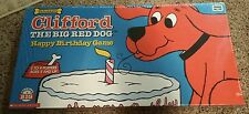 PBS Kids, Clifford The Big Red Dog Happy Birthday Board Game Scholastic Sealed