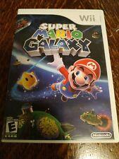 Super Mario Galaxy (Nintendo Wii, 2007) Complete! Original Release!