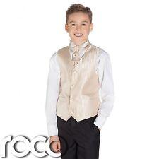 Boys Gold & Black Suit, Page Boy Suits, Boys Wedding Suits, Boys Suits, Stripe