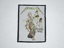 METALLICA AND JUSTICE FOR ALL WOVEN PATCH
