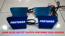 INTERIOR DOOR HANDLE INNER LED DARK BLUE LIGHT FOR TOYOTA FORTUNER 2016 SET OF4