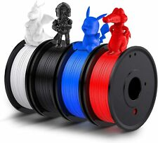 3D Printer Filament PLA 1.75mm Various Lengths and Colours UK Black White Lot