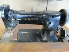 Singer 111w154 Walking Foot Industrial Sewing Machine With Table Motor