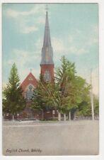 Whitby, English Church, Canada Postcard, B418