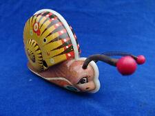 MIGNON Cute TOP +++ JOUET TOLE Tin toy - WONIU - ESCARGOT Nail