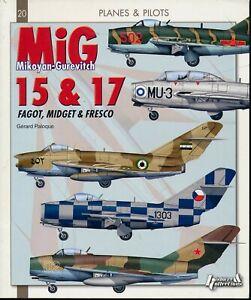 Mikoyan-Gurevitch MiG-15 & 17 (Planes & Pilots) - New Copy