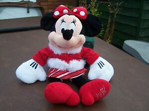 From Disney Winter Themed Medium Sized Minnie Mouse Soft Toy