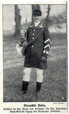 Oberpikör Palm Dresseur u.Vorsteher d. Kgl. Jägerhofes Groß-Glienicke 25j...1913