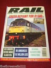 RAIL - BR £42 MILLION LOSS - JULY 10 1991 # 152