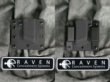NEW LEFT HAND RAVEN CONCEALMENT M&P 9 40 357 SIG MAGAZINE MAG AMMO HOLSTER
