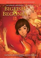 Big Fish & Begonia, Dvd + Digital Copy, 2018, New, Wrinkled Slip-Cover