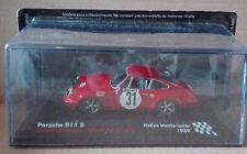 """DIE CAST """" PORSCHE 911 S RALLYE MONTE CARLO - 1969 """" SCALA 1/43"""