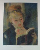 Renoir Mädchen in der Sonne Poster Kunstdruck Bild 30x24cm