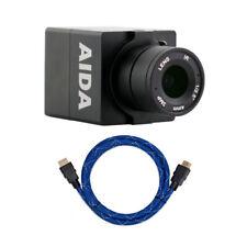 AIDA HD-100A Compact Full HD HDMI POV Camera with 4K HDMI to HDMI Cable