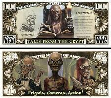 TALES FROM The CRYPT  . Million Dollar USA .Billet de commémoration / Collection
