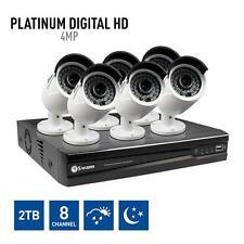 Swann NVR8-7400 8 Ch HD- 1080p 2TB NVR CCTV KIT + 6x NHD-818 4.0MP Cameras