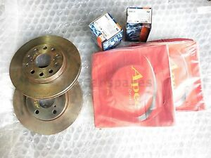 Toyota MR2 GT New Front and Rear Brake Discs APEC DSK355 DSK364 Pads BP364 BP335