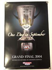 RARE ORIGINAL 2004 AFL GRAND FINAL POSTER - PORT ADELAIDE POWER PREMIERS