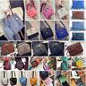 Leather Fashion Women Cross Body Tote Purse Handbag Messenger Shoulder Bags Lot
