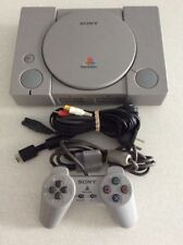 PAL Sony PlayStation 1 Game Console With Leads And 1 Controller PS1