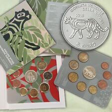 San Marino pièces de monnaie kms Série légale 2018 BU PC 1 cent - 2 + Argent