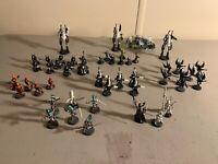 CRAFTWORLDS ELDAR lot Warhammer 40k wraithguard farseer banshees old metal rare