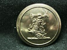 Hardy Baronets Arm in Vines w Dragon 26mm Gilt Livery Coat Button c 1890 Firmin