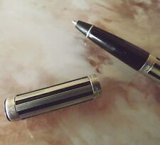 STYLO BILLE WATERMAN EN ARGENT MASSIF DE LA COLLECTIONWATERMINA NIGHT AND DAY