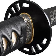 Hand Forged Sharp Samurai Katana Sword 1095 Carbon Clay Tempered Kill Bill Bride