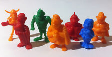 7 Rare Antique ASTERIX Dunkin Figures PANRICO Premium kaugummifiguren 1989 New
