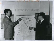 1973 Photo Ymca Officials Announced New Site 8X6