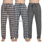 Avidlove Men Plaid Bottoms Loose Sleepwear Lounge Pajamas Pants Trousers EA9